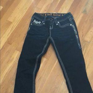 Denim - Ladies rock revival easy boot cut jeans